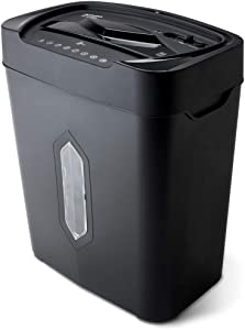 Aurora AU1010MA High-Security 10-Sheet Micro-Cut Paper, Credit Card Shredder, Large 5.2-Gals Basket with Easy Lifting Handle