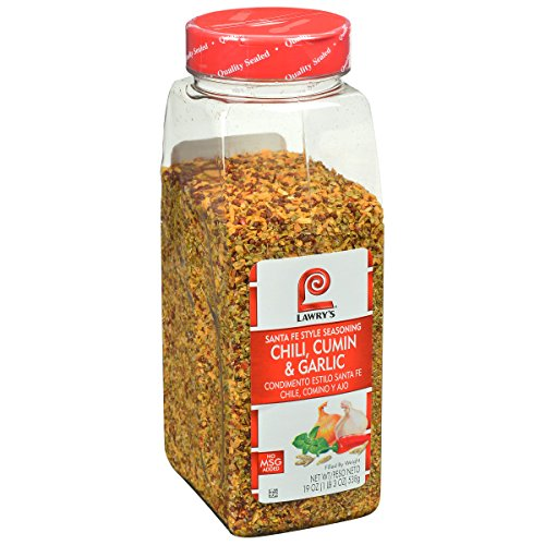 Lawrys Taco - Lawry's Chili, Cumin and Garlic Santa Fe Style Seasoning, 19 Ounce