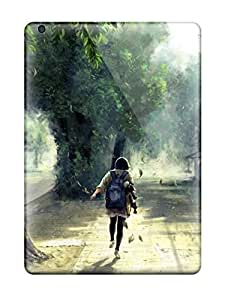 Protective Tpu Case With Fashion Design For Ipad Air (anime Painting)
