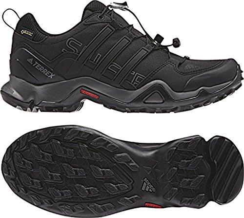 Adidas Kvinners Terrex Swift R Gtx Sko Svart / Svart / Granitt 10 Og Håndkle