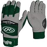Rawlings Workhorse 950 Batting Glove Youth Dark Green Medium BGP950TY-DG-89