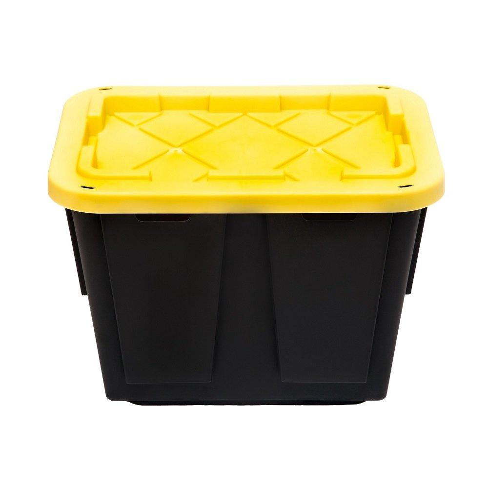 GreenMade Pro Storage Container, 12-Gallon (Yellow/Black)