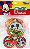 Disney Mickey Mouse Cupcake baking cups and toppers (set of 24)