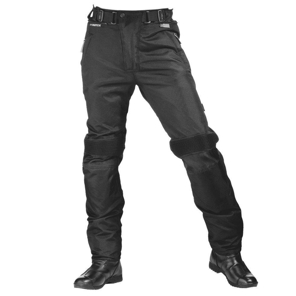 DXL Roleff Racewear 456DXL Pantaloni Moto in Tessuto Nero