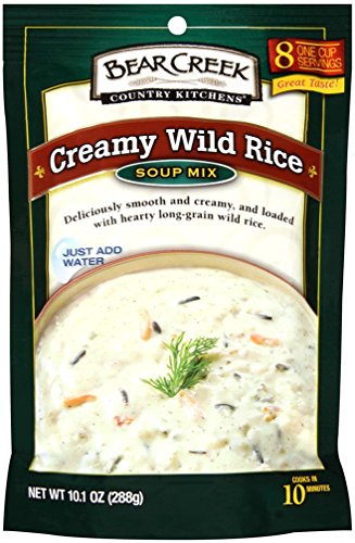 Bear Creek Soup Mix, Creamy Wild Rice, 10.1 Ounce (Pack of 6)