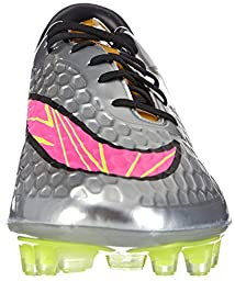 Nike Hypervenom Phatal Prem FG Mens Soccer Shoes (Chrome/Hyper Pink-Metlc Gold Cn Chrome, 8.5)