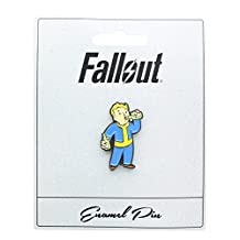 "Fallout Vault Boy ""Party Boy"" Enamel Collector Pin"