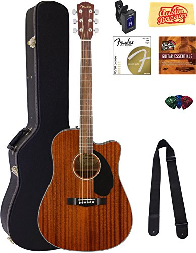 Fender CD 60SCE Dreadnought Acoustic Electric Guitar product image