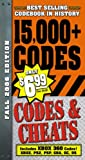 Codes and Cheats, Prima Games Staff, 0761553363