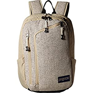 JanSport Unisex Platform Desert Beige Static Backpack