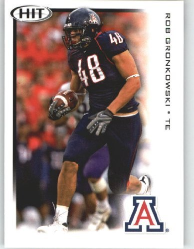 Rob Gronkowski TE - Arizona (RC - Rookie Card) FIRST EVER NFL Trading Card - 2010 Sage HIT Football