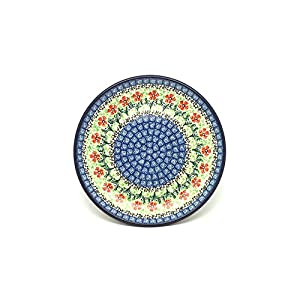 Polish Pottery Plate – 7 3/4″ Salad/Dessert – Maraschino