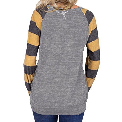 8b66a1d03586a ... DAY8 chemise femme chic soiree manteau femme grande taille Printemps  pull femme hiver sport blouse femme ...
