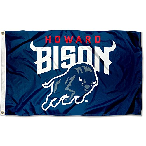 Howard Bison Large New Logo 3x5 College Flag