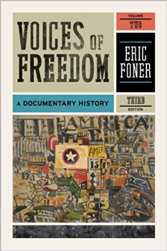 Voices of freedom a documentary history third edition vol 2 voices of freedom a documentary history third edition vol 2 third edition by eric foner fandeluxe Gallery