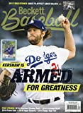 Beckett Baseball Monthly Price Guide Card Value Magazine March 2017 C. Kershaw