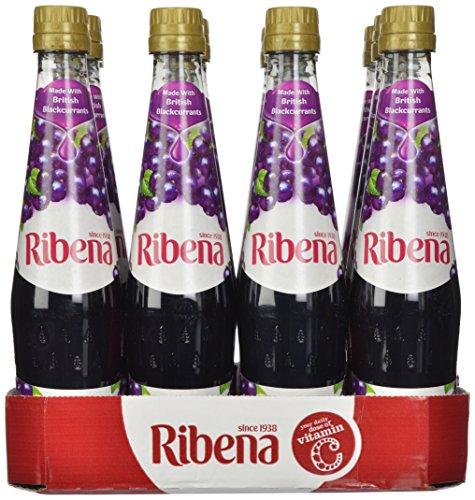 Ribena Original Blackcurrant Drink, 600 ml Bottle (Pack o...
