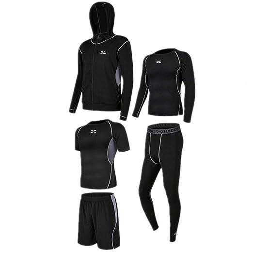 Conjunto de traje de deporte para mujer, 5 piezas para hombre ...
