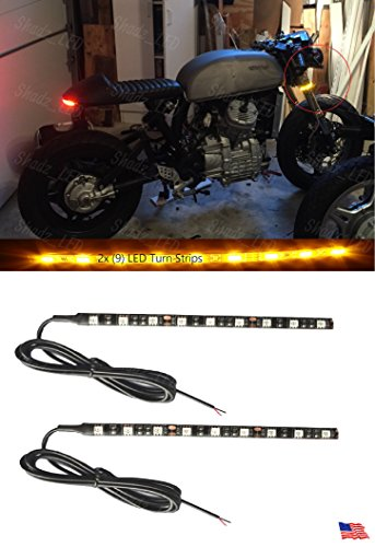 Flexible Amber LED Motorcycle Turn Signal Lights