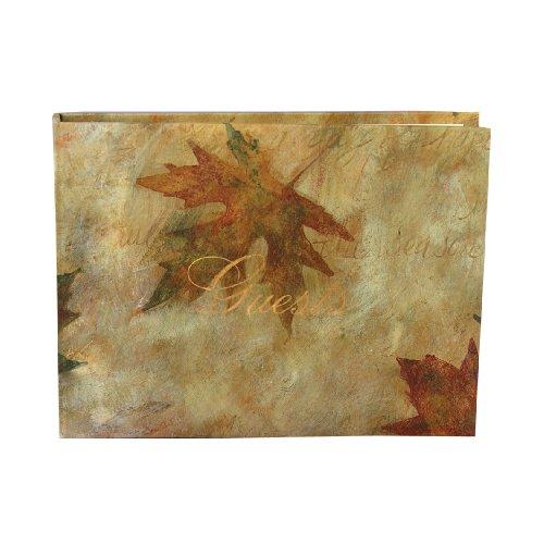 Hortense B. Hewitt Wedding Accessories Maple Leaf Guest Book -