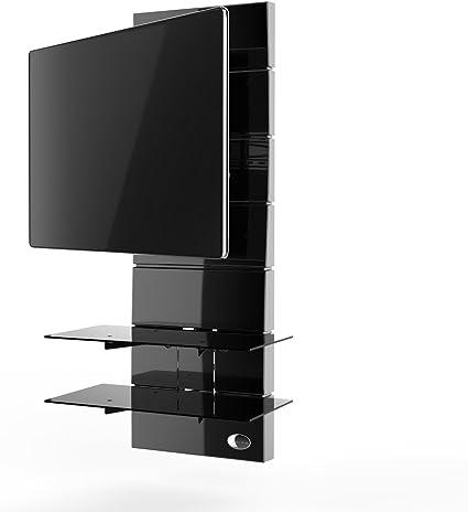 Meliconi Ghost Design 3000 - Mueble de Pared con rotación para televisores, Color Negro: Amazon.es: Electrónica