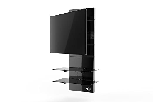 11 opinioni per Meliconi Ghost Design 3000 Rotation Supporto Doppio Braccio Orientabile per TV