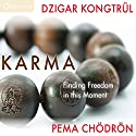 Karma: Finding Freedom in This Moment Speech by Pema Chödrön, Dzigar Kongtrul Rinpoche Narrated by Pema Chödrön, Dzigar Kongtrul Rinpoche
