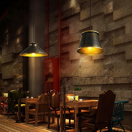 ZI LIN SHOP- LOFT Bar Retro Industrial Style Nordic Personality Clothing Store Restaurant Lights Cafe Single Chandeliers rug ( Size : 37x15cm )