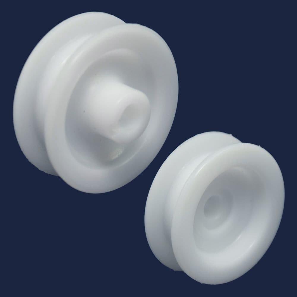 Frigidaire 5304507405 Dishwasher Dishrack Support Roller Assembly Original Equipment (OEM) Part, White
