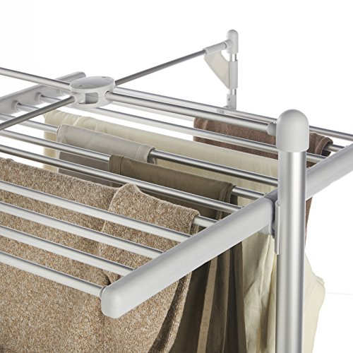 Vonhaus Heated Clothes And Towel Drying Rack Foldable 3