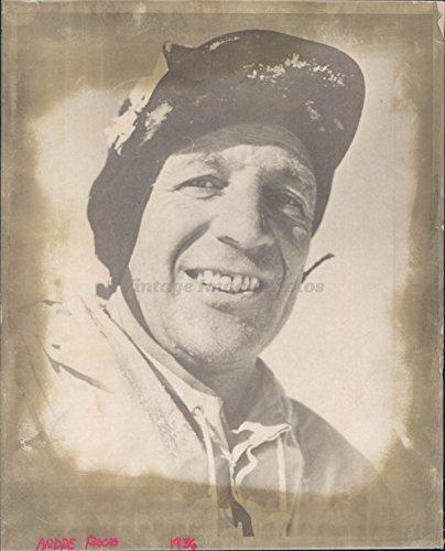 1967 Photo Audre Rocho Man Hat Smiling Exion Historic Vintage Bob Krueger from Vintage Photos