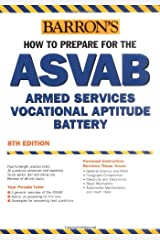 Barrons How to Prepare for the ASVAB: Armed Services Vocational Aptitude Battery (Book only) Paperback