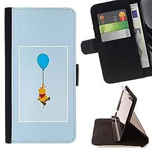 Momo Phone Case / Flip Funda de Cuero Case Cover - Dessin de personnage de dessin animé - Huawei Ascend P8 (Not for P8 Lite)