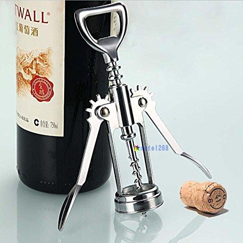 OKOKMALL US--Metal Wine Corkscrew Stainless Steel