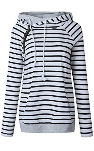 cowl neck womens sweatshirt - 3