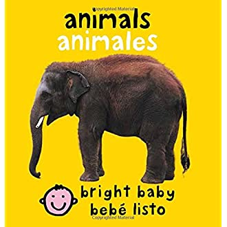 #12 Animals: Animales (Bright Baby) (English and Spanish Edition)