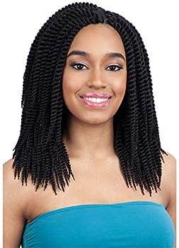 "CHUNKY SENEGAL 10"" (PU) - Model Model Glance Synthetic Crochet Braid Bulk Hair"