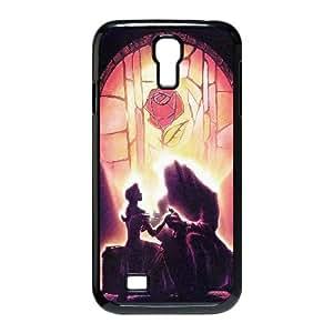 Ac La Bella y la caja del teléfono celular Bestia de Disney Arte Illust Plus AF20HR6 funda Samsung Galaxy S4 funda R2UR9J5RE