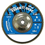 SEPTLS80450546 - Weiler Tiger Disc Angled Style Flap Discs - 50546
