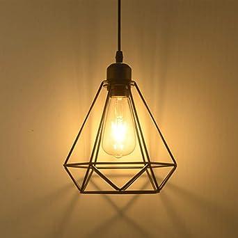 Pendelleuchte Retro Vintage Hängeleuchte Deckenbeleuchtung E27 ...