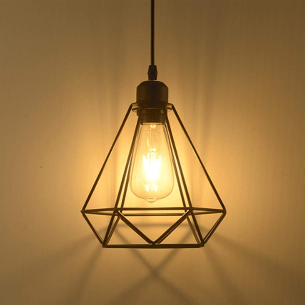 Lámpara colgante Retro Vintage iluminación de techo Iluminación E27 Capacidad AC220 – 240 V (forma de jaula) product image
