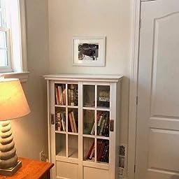Beau Amazon.com: Customer Reviews: Altra Furniture Altra Aaron Lane Bookcase  With Sliding Glass Doors, Black