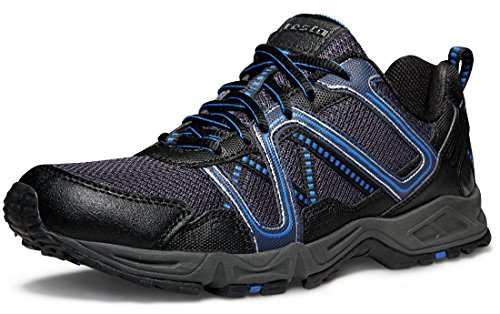 4603c1263578a TSLA Men's Outdoor Sneakers Trail Running Shoes, Trail(t320) - Navy &  Black, 9.5