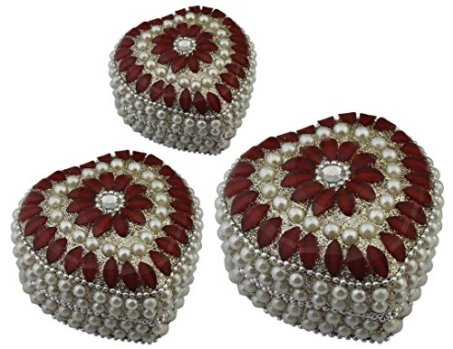 Modern Beaded Necklace Earrings - 7
