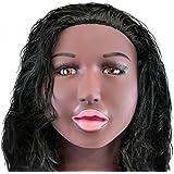 BLack Blow Job Inflatable Sex Doll