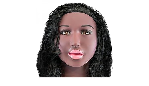 Muñeca erótica africana Nahema - Muñeca Hinchable Realista ...