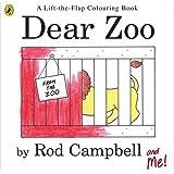 Dear Zoo Colouring Book