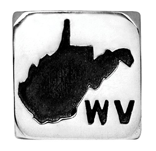 Harley-Davidson Womens .925 Silver State Ride Bead - West Virginia Ride Bead