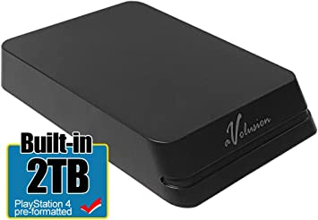 Avolusion Mini HDDGear Pro 2TB USB 3.0 ポータブル PS4 外付けゲーム用ハードドライブ (PS4 フォーマット済み) HD250U3-X1-PRO-2TB-PS