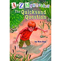 A to Z Mysteries #17: The Quicksand Question
